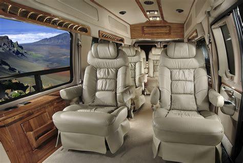 luxury limo vans