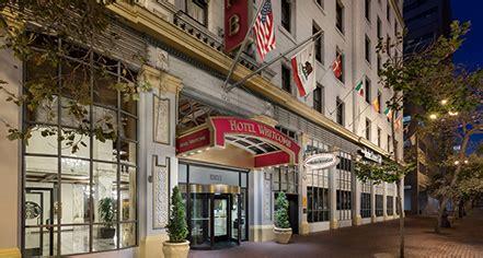 hotel whitcomb san francisco ca historic hotels america