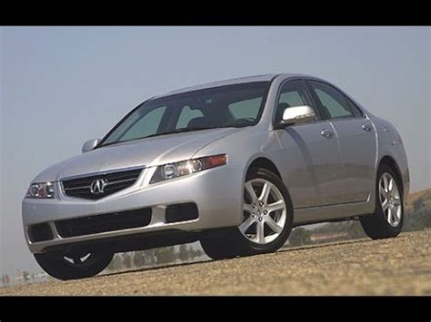 2005 acura tsx manual review youtube