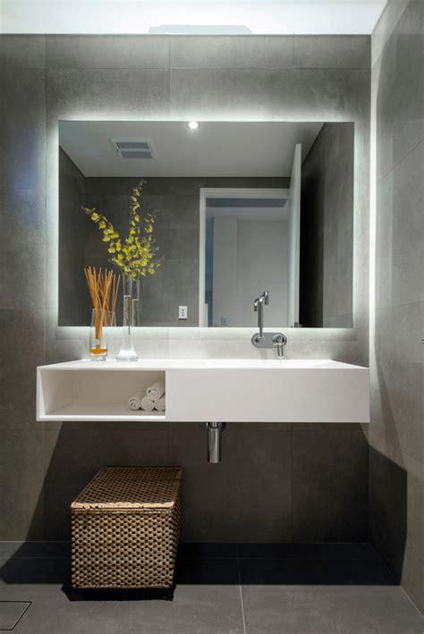 latest trends 27 bathroom mirror designs backlit bathroom