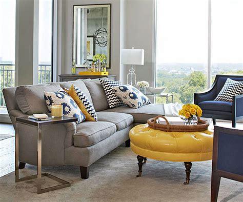 grey yellow living room decor 2017 grasscloth wallpaper