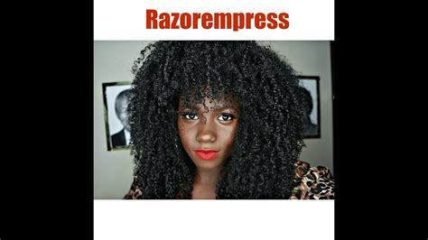 curly hair routine wash routine natural hair razorempress