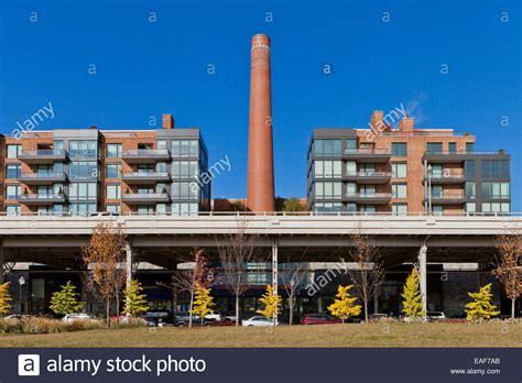 georgetown ritz carlton hotel smokestack washington dc usa