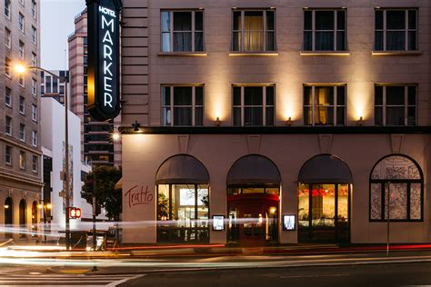 luxury boutique hotels union square sf marker san