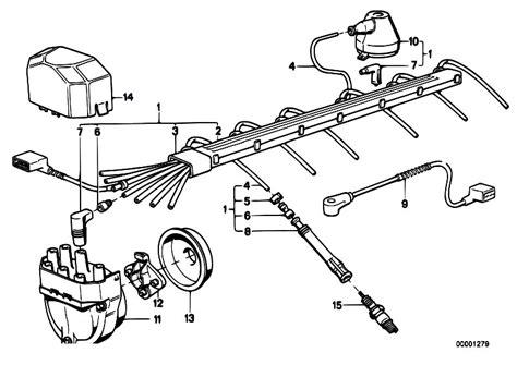 original parts e32 730i m30 sedan engine electrical