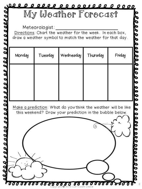 weather unit teaching weather weather science science