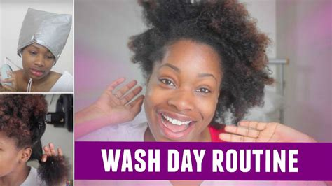 natural hair wash day routine shevelleroberts youtube