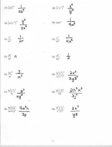 15 images exponent rules worksheet exponents worksheets powers