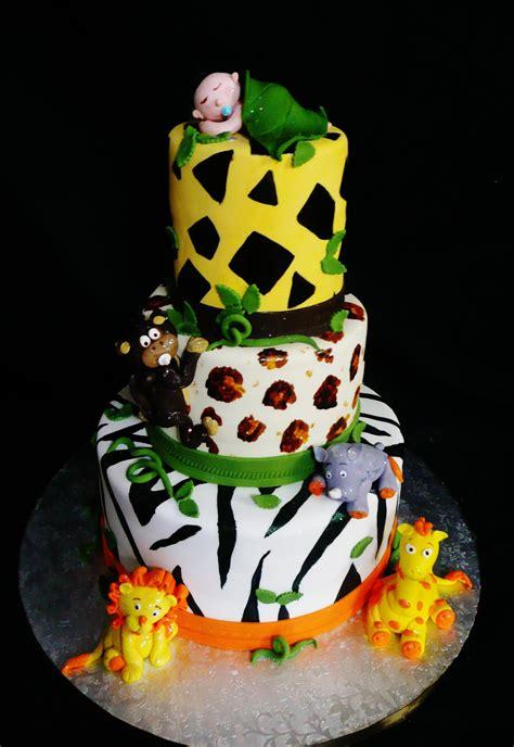 baking roxana cakes baby shower safari themed cake