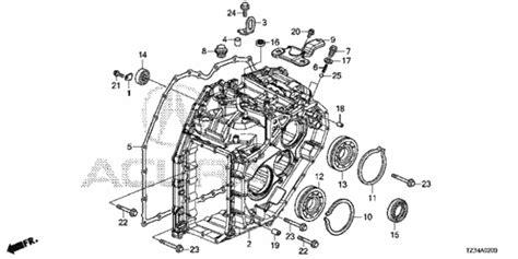 transmission case 2015 acura tlx sedan oemacurapart