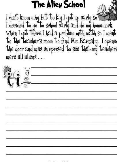 writing mystery story year 3 english worksheets