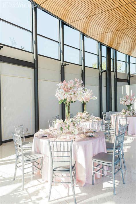 blush pink garden wedding elegantwedding