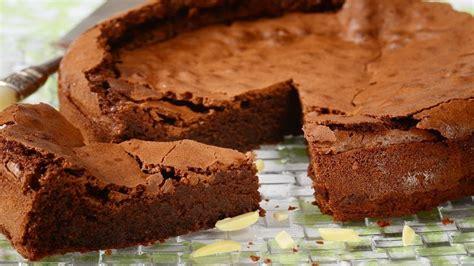 chocolate almond torte recipe demonstration joyofbaking youtube almond