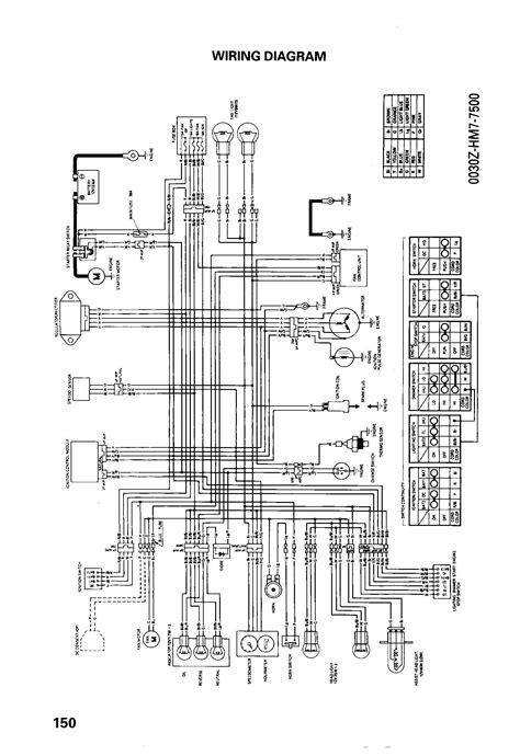 honda trx 250 wiring diagram wiring diagram database