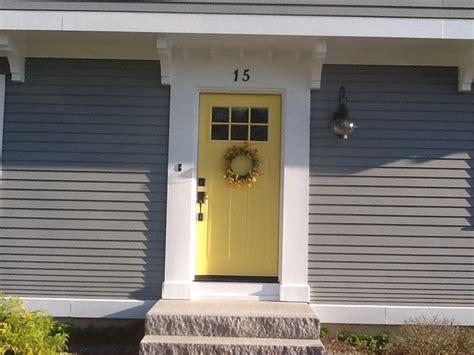 benjamin moore yellow raincoat inspiration home yellow front