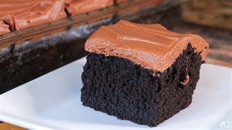 chocolate sheet cake milk chocolate ganache frosting carnaldish