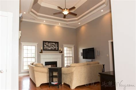 interesting gray warm space behrs
