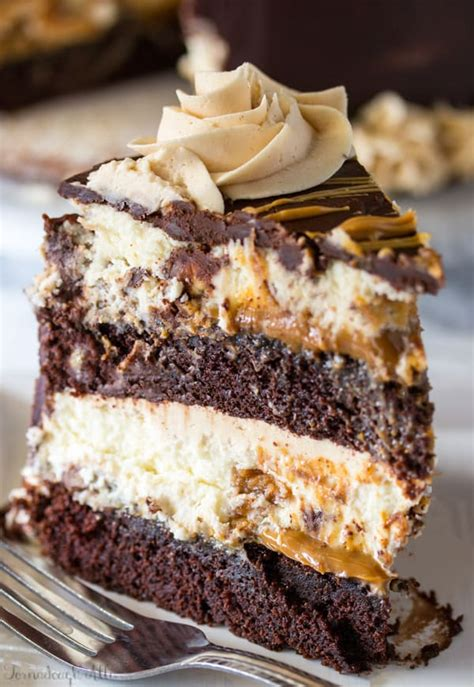 copycat cheesecake factory reese peanut butter chocolate cake