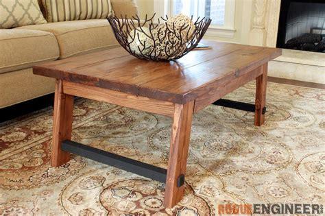 angled leg coffee table free diy plans rogue