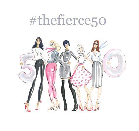 top 50 fashion bloggers fierce 50 caign mit