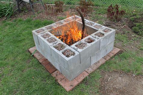 17 diy fire pit ideas backyard cinder block