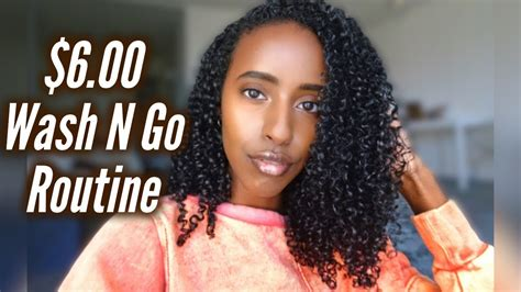 6 00 wash routine natural curly hair youtube