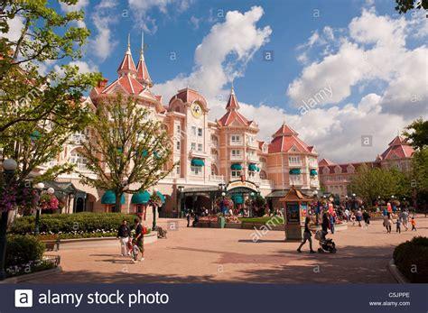 disneyland hotel disneyland paris france stock photo 37907030