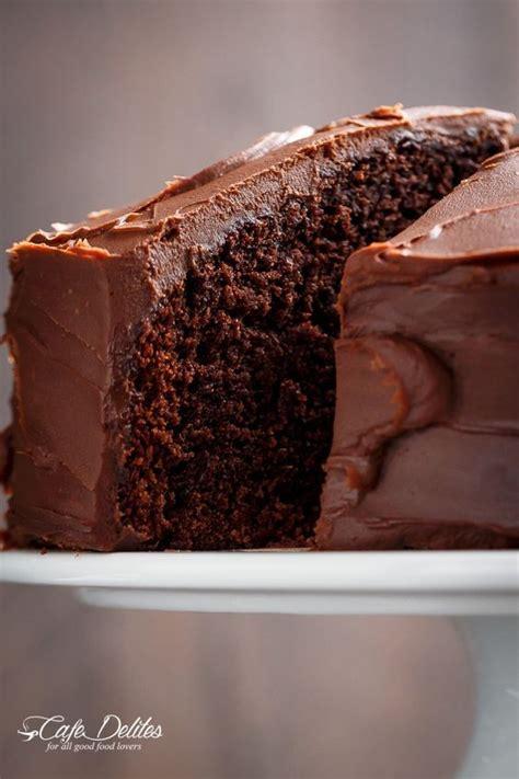 fudgy chocolate cake cafe delites fudgy chocolate cake