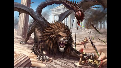 top 50 mythical creatures monsters youtube