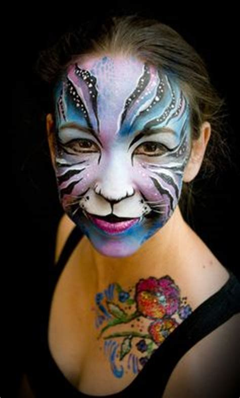 full face painting designs pinterest tiger face face