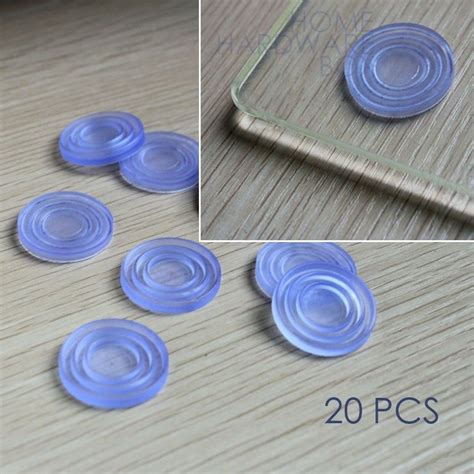 soft rubber pad glass table top grip buffer