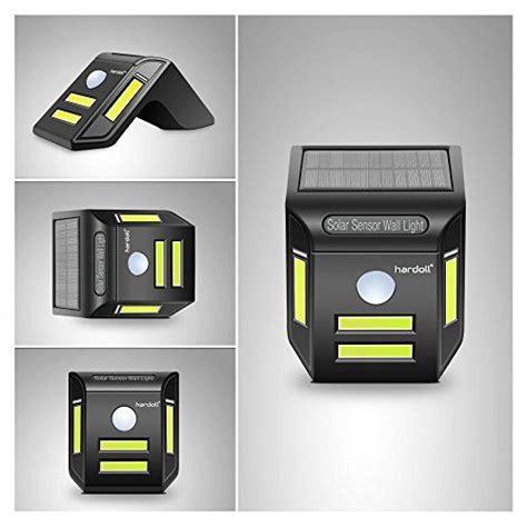 solar lights hardoll led motion sensor outdoor security
