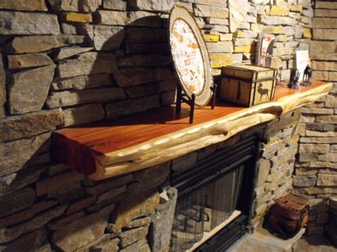live edge red cedar fireplace mantels order natural