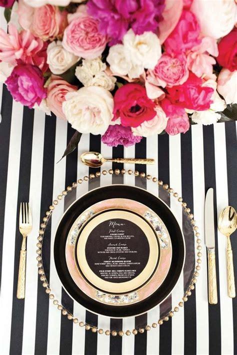 47 elegante hochzeitstische schwarz weiß arrangiert