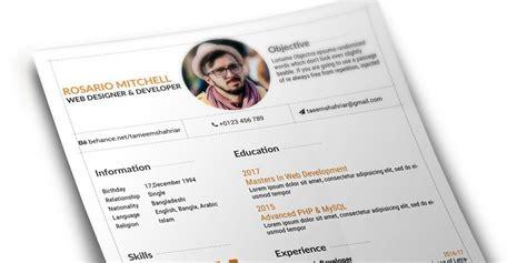 web designer resume templates resume template free resume