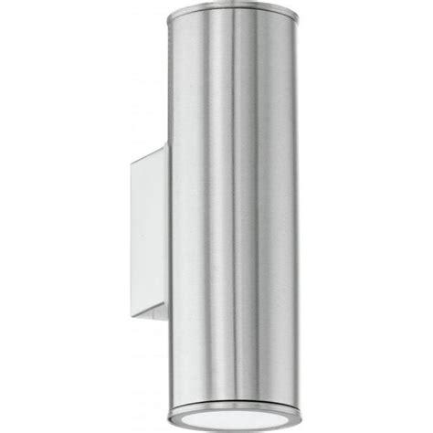 riga 84002 2 light wall light stainless steel