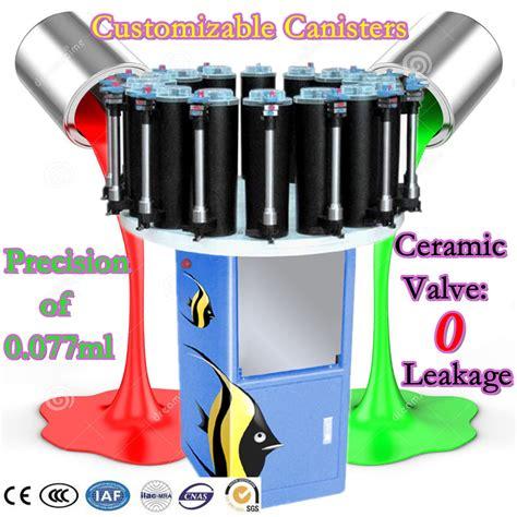 paint tinting machine colorant dispenser color mixing machine