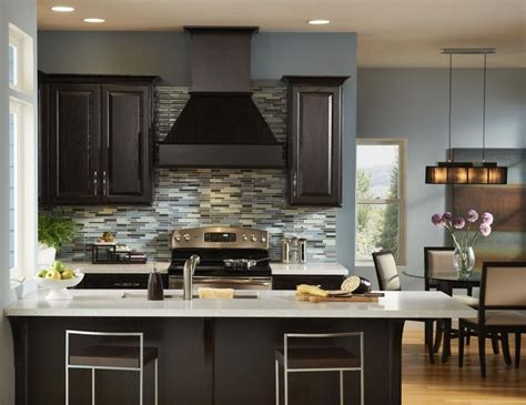 kitchen wall colors dark cabinets home furniture design