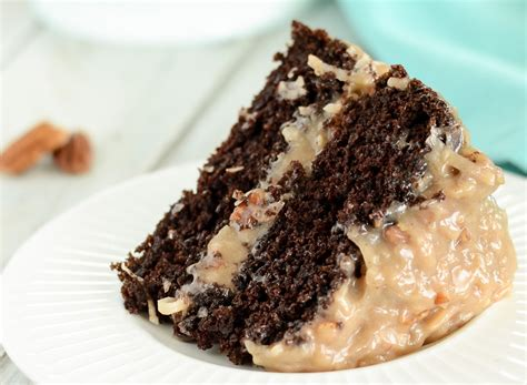 german chocolate cake coconut pecan frosting lil luna