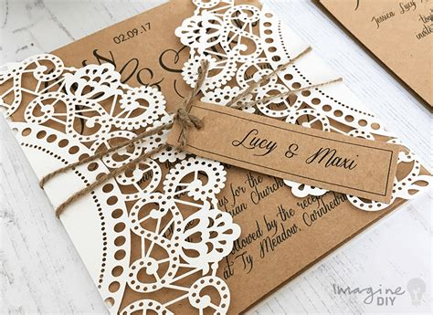 imagine diy wedding stationery south wales