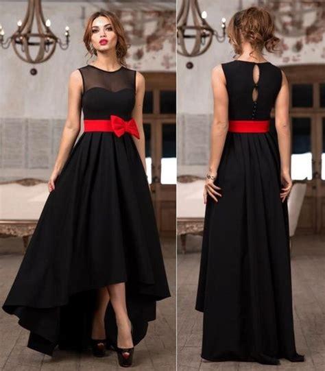 vestido de festa stunning black lo bridesmaid dresses