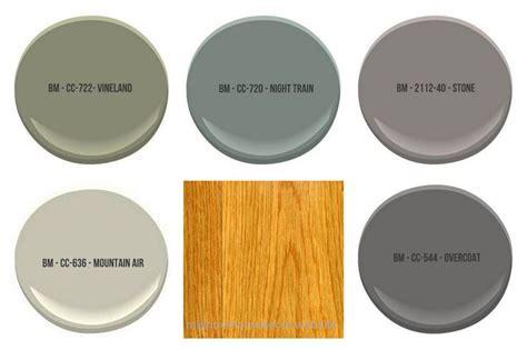 paint complement honey oak cabinets colors shown benjamin