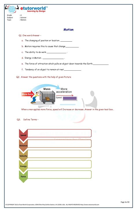 pin etutorworld grade 4 science worksheets 4th grade