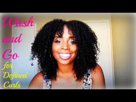 perfect wash defined curls natural hair youtube