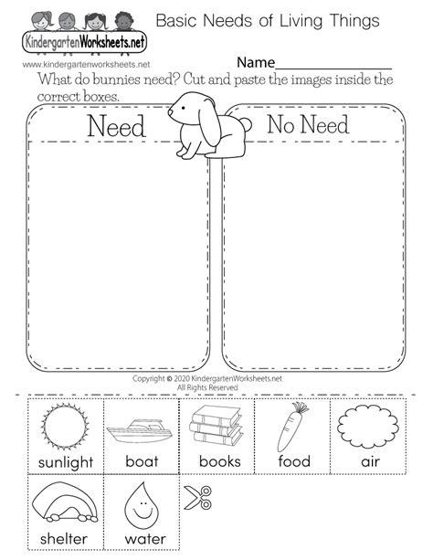 kids science worksheet free kindergarten learning worksheet kids