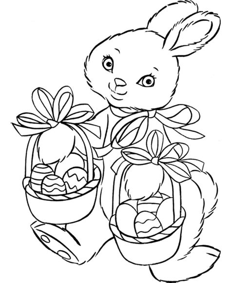 easter bunny coloring pages 360coloringpages