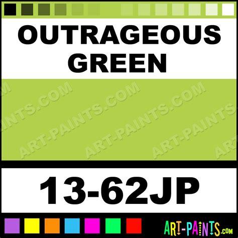 outrageous green universe twin paintmarker paints marking pens