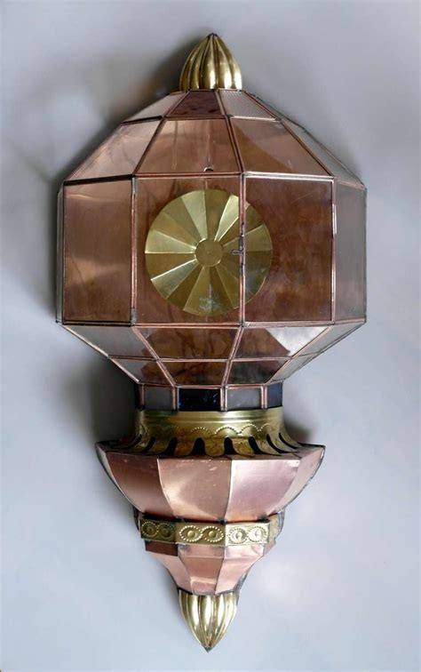 Large Vintage Mexican Copper Wall Sconce At 1stdibs.html