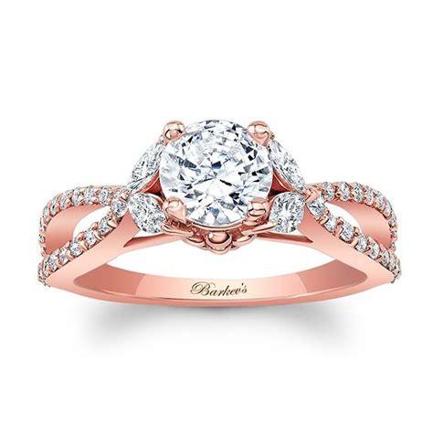 barkev rose gold engagement ring 8062lp barkev