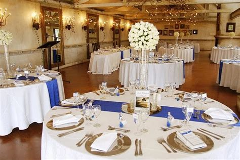 royal blue silver white wedding decorations http weddingstopicspot